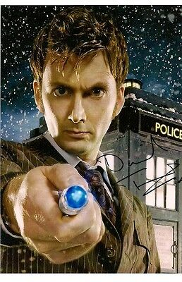 DAVID TENNANT TENTH DOCTOR WHO Pre Signed Photo