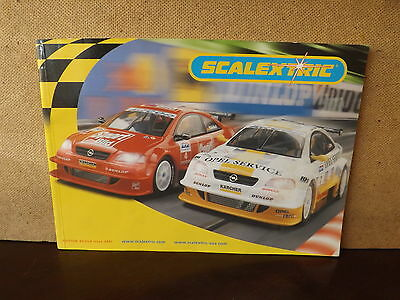 Scalextric Catalogue...edition 42..2001...good Condition....