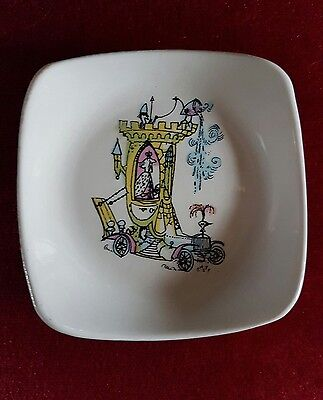 Vintage Wade Emetts Emett Pin Dish Tray Town Carriage For A Ninth Earl