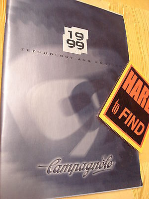 CAMPAGNOLO catalogue 1999 and OTHERS listing