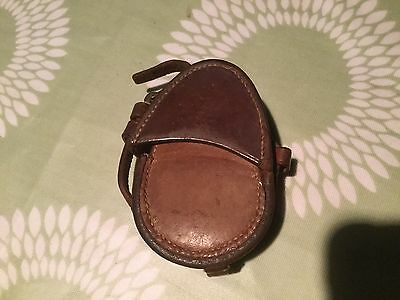 VINTAGE WW1 1915 Dated Leather Pouch For A Compass