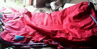 Shires 5'3 full neck/combo heavy weight rug new