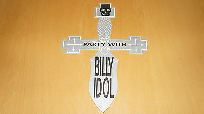 Billy Idol - London After Show Party Ticket / Invitation