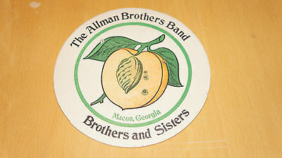 The Allman Brothers Band - Brothers and Sisters - 1973 Promo Beer Mat