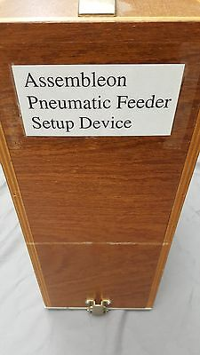 Philips Assembleon Pneumatic Feeder Setup Device With Wood Case
