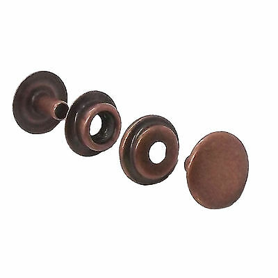 Line 24 Antique Copper Plated Snap 10 Pack 1263-10 by Stecksstore