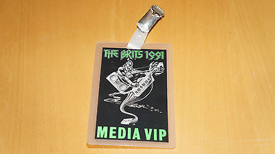 Brit Awards 1991 - VIP Pass (George Michael Depeche Mode The Cure promo)