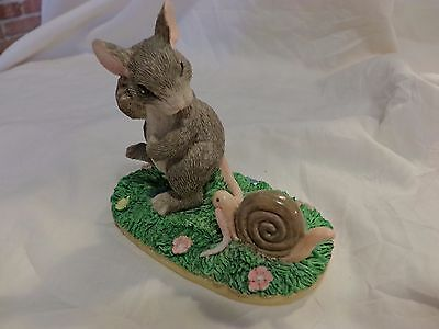 """Charming Tails """"Taggin' Along"""" Silvestri Piece 87399 SIGNED DEAN GRIFF(85)"""
