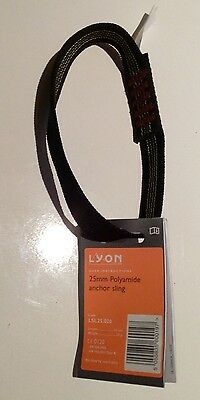 Lyon Slings - 20cm 25mm Polyamide Anchor Sling 30kn Climbing, Caving, Rescue,