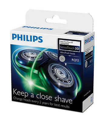 Philips Norelco RQ12 Shaver Head 3D SensoTouch OEM 1250,1260,1275,1280,1290,1295