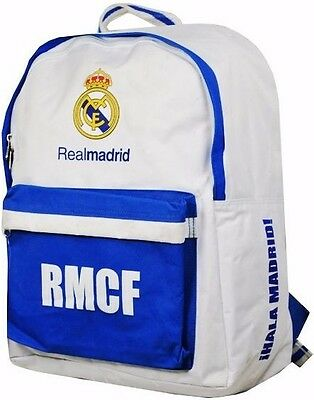 Real Madrid Fc Boys School Kit Sports Backpack Gym Swim Rucksack Lunch Bag Rmfc