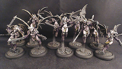 Warhammer 40k Chaos Space Marines Raptors Emperors Children Pro Painted