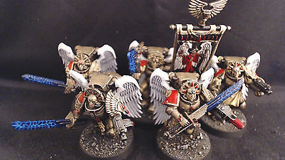 Warhammer 40k Blood Angels Sanguinary Guard Pro Painted