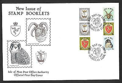 Isle Of man First Day Cover (Stamp Booklet)  29 Sep 1980