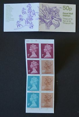 1985 50p Orchards No3 Top Cylinder B27 B7 B8 Phos B57 Booklet FB29