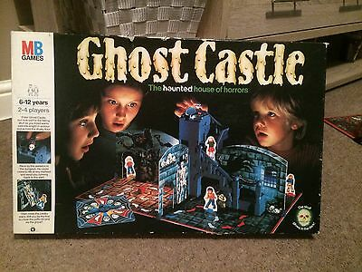 Ghost Castle Board Game MB - 1985 Complete - Free Postage