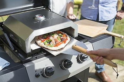 La Hacienda Firebox BBQ Pizza Oven - Works on Gas or Charcoal BBQ's.....