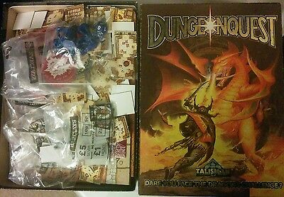 Games workshop talisman dungeonquest board game and miniatures