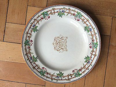 Set of 12 Antique Copeland Spode Dinner Plates