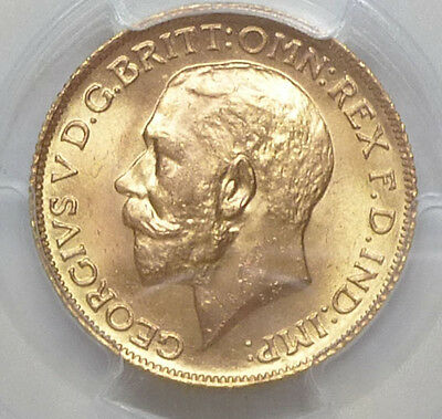 Great Britain Gold Sovereign 1925 MS 65 PCGS