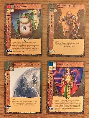 31 x *CHASE/ULTRA-RARE* CARDS FROM BLOODWARS (1995) + FREE POSTAGE