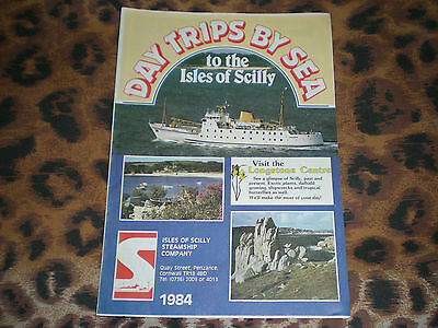 Day Trips By Sea to the Isles of Scilly 1984. Isles of Scilly Steamship Company