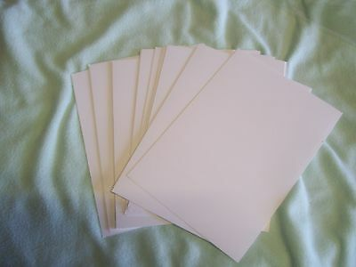 "Stampin UP Whisper White card stock pack of 24 8.3""x5.8"""