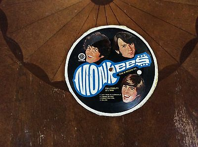 Monkees Cereal Box Record