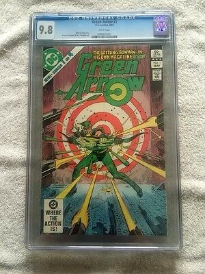 Green Arrow #1 DC Comics May 1983 CGC 9.8 White Pages