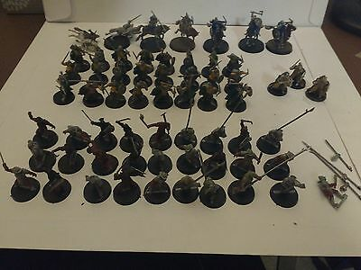 Mixed Lord of the Rings 61 miniatures Warhammer