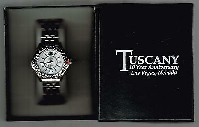 Tuscany Casino Las Vegas, Nv. New 10 Year Watch & Box Great For Any Collection!