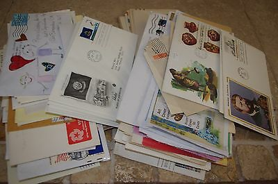 100+ Cover Lot FDC First Day Regular Mail Handmade Premium Misc