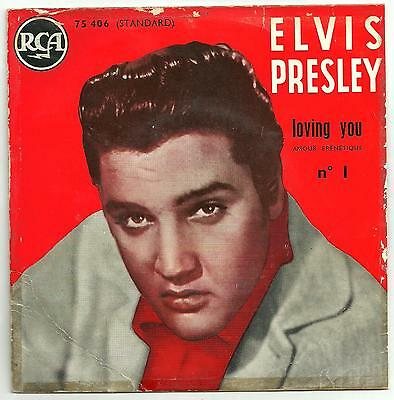 Elvis Presley - Loving you Vol 1 PS EP from France.