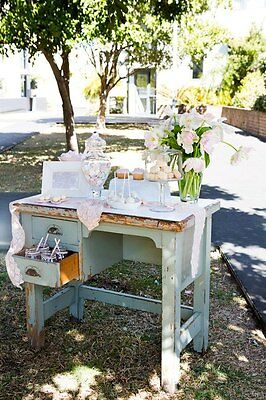 Shabby chic / industrial vintage desk / side / buffet table