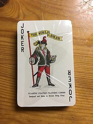 Vintage 1982 World's Fair Playing Cards