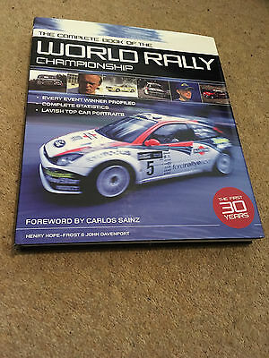The Complete Book of the WRC World Rally Championship