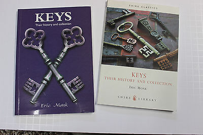 2 Books, Keys-Their History And Collection, By Eric Monk