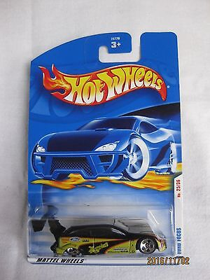 Hotwheels 2001 First Edition Ford Focus 5 Hole Wheel Variation Mint In Card