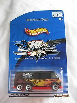 Hotwheels 2002 11th Annual Collectors Nationals Convention,GMC Motor Home Mint
