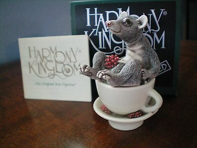 Harmony Kingdom Poo Brew Black Box Palm Civet Produces Kopi Luwak Coffee Bean SG