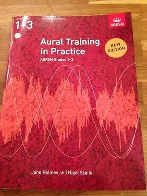 AURAL TRAINING IN PRACTICE Grades 1 - 3 with 2 CDs ABRSM music book