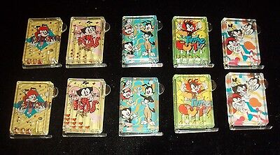 Vintage Cracker Jack Prize Lot of (10) Animaniacs Pinball Games- Warner Brothers