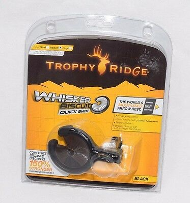 Trophy Ridge Quick Shot Whisker Biscuit - Black Medium AWB100M