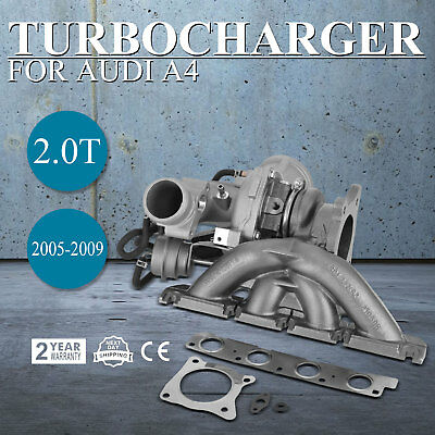 New Turbo Turbocharger for Audi A4 2.0T 2005-2009 Durable BUL BWE BWT EXCELLENT