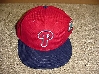 2016 Philadelphia Phillies Fitted Spring Training Cap Hat Team Issued Size 7