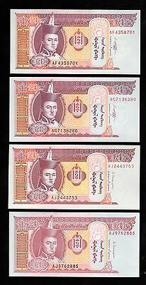 Banknote World Mongolia In Asia,1 Pce Of 20 Tugrik 2009/11/13 & 14,from Bundle