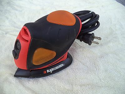 Black & Decker Electric Corded Mouse Sander Polisher #MS550G (#1449)
