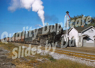 IC 2-8-2 Steam Action, Bois IL 1951   Quality DUPLICATE Slide
