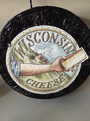 "Wisconsin Cheese Wheel FAKE FOOD 13"" x 4"""