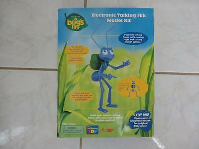 BUG'S LIFE Action Figure Electronic Talking FLIK Model Kit MIB